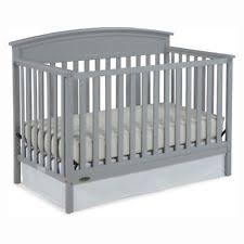 Graco Convertible Crib Replacement Parts Graco Benton 5 In 1 Fixed Side Convertible Crib Pebble Gray