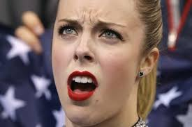 this disgusted american figure skater is the meme you never knew