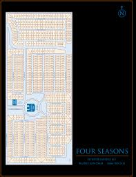 park of four seasons community site plan park of four seasons