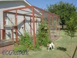 Outdoor Cat Condo Plans by How To Build An Outdoor Cat Enclosure Or Catio Teediddlydee
