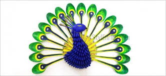 Diy Recycled Home Decor Diy Recycled Crafts How To Make Plastic Spoon Peacock By Ananvita