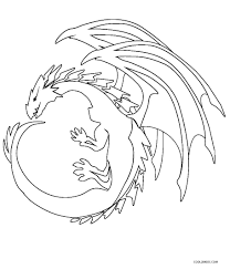 coloring pages printable dragon coloring pages for kids coolbkids