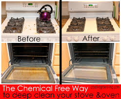 how to deep clean how to deep clean your oven stove without harsh chemicals