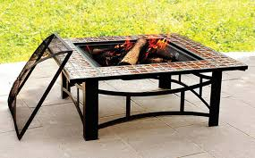 Target Firepit Target Pit Also Square Shaped Design With Cast Iron Cover