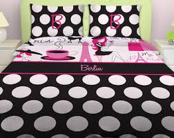 Kid Bedspreads And Comforters Paris Bedding Etsy