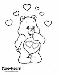 cheer bear coloring pages download print free