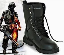s army boots uk unbranded combat boots lace up shoes for ebay