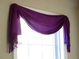 Bathroom Window Treatment Ideas Colors Best 25 Scarf Valance Ideas On Pinterest Window Scarf Curtain