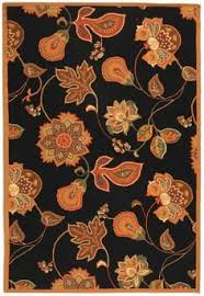 Brown And Orange Area Rug Safavieh Dynasty Dy250a Black Red Area Rug Rugs Pinterest