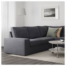 Kivik Sofa And Chaise Lounge by Kivik Corner Sofa 5 Seat With Chaise Longue Hillared Anthracite