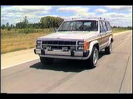 1989 Jeep Wagoneer Limited Youtube