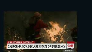 California Wildfires Rocky Fire by Weather Helps Battle California Wildfire U0027rocky Fire U0027 Cnn