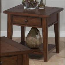 Oak Sofa Table With Drawers Oak End Tables With Drawers Foter