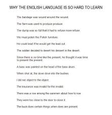 Funny Memes In English - the english language is so hard to learn