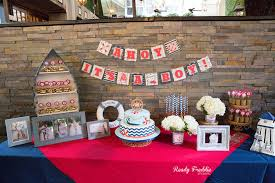 AHOY it s a BOY Baby Shower at Perricones in Downtown Miami