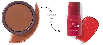 how to transition your makeup from summer to fall 100 pure