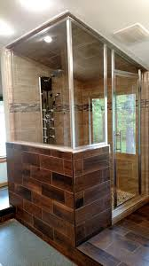 Wood Shower Door by Area Glass Shower Doors U0026 Mirror Home