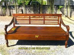 Wooden Outdoor Daybed Furniture by Teak Daybed Outdoor U2013 Heartland Aviation Com