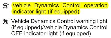 subaru vehicle dynamics control warning light traction control light illuminated subaru legacy forums