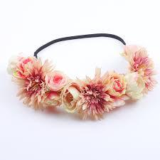 floral garland women hair accessories wedding floral garland christmas