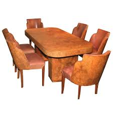 documented french art deco dining room suite by marcel guillemard