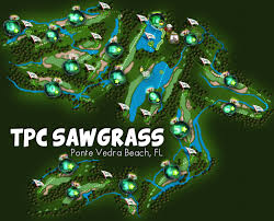 Sawgrass Map Spend A Few Moments With Your Head In The Clouds