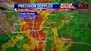 Illinois Tornado Map by First Warn Weather Team Tuesday Weather Updates Found Here