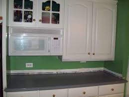 Epoxy Paint For Kitchen Cabinets Remodelaholic Painted Formica Countertop
