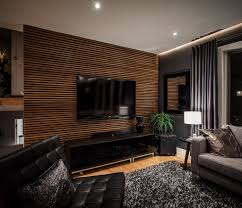 tv wall panel comfy wooden table textured wall panel to beautify living room