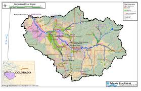 Map Of Colorado Cities by Colorado River Map With States