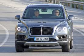 2016 bentley falcon first diesel bentley hits the road bentayga tdi spotted by car