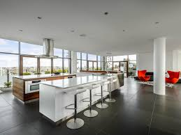 Pictures Of Modern Kitchen Designs White Modern Kitchen Pictures Party In The Penthouse Hgtv