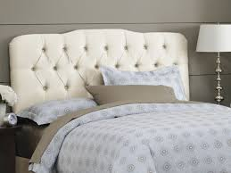 Candiac Upholstered Bedroom Set Platform Bed Amazing White Upholstered Bed Devon White