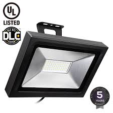 Led Outdoor Flood Lights Leonlite Led Outdoor Flood Light 50w 200w Equiv Ultra Bright
