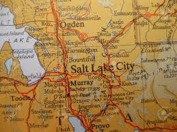 map world ogden map of salt lake city utah stock photo picture and royalty free