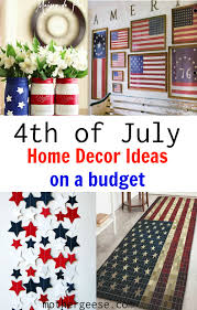 4th of july home decor ideas mother geese
