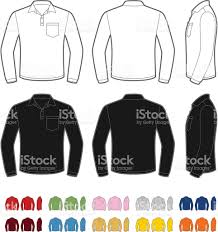 royalty free mens t shirt design template with pocket clip art