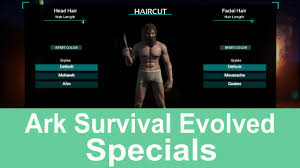 ark survival evolved special update 254 0 how to cut hair