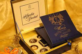 marriage cards closeview designer blue wedding cards newdelhi weddinginvitation