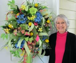 springtime wreaths springtime wreaths easter door wreaths pinterest sumoglove