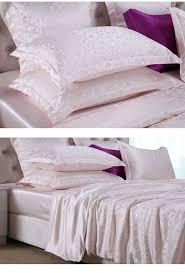 Silk Crib Bedding Set 1342 Best Silk Bed Sheets U0026 Silk Duvet Covers Images On Pinterest