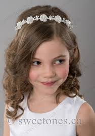 communion headpieces match with any of our communion dresses made out of
