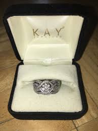 kay jewelers promise rings kay jewelers bridal set engagement wedding ring 10k white gold