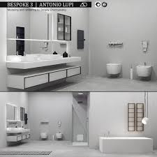 Bespoke Bathroom Furniture 3d Model Bathroom Furniture Set Bespoke 3 Cgtrader