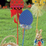 Outdoor Easter Decorations Ideas by Easter Decor Ideas Plants With Eggs Decor Crave