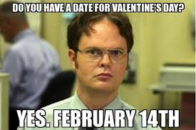 No Valentine Meme - happy valentine s day 2018 the best quotes and memes from social