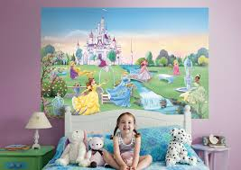disney princess mural wall decal shop fathead for disney disney princess fathead wall mural