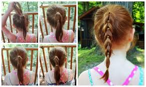 easy hairstyles not braids 3 easy hairstyles for girls that are perfect for back to school