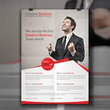 creative business flyer template free download on pngtree