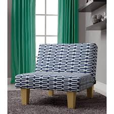 Blue And White Accent Chair Aria Accent Chair Blue And White Walmart Com